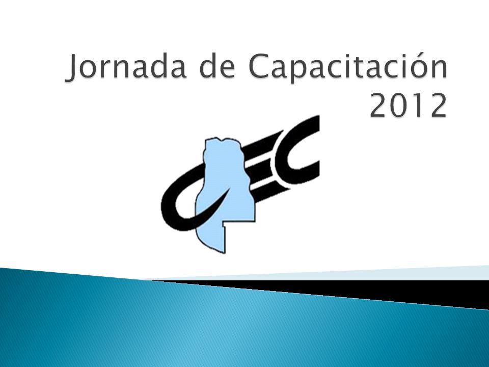 Jornada de Capacitación 2012