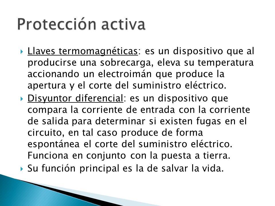 Protección activa