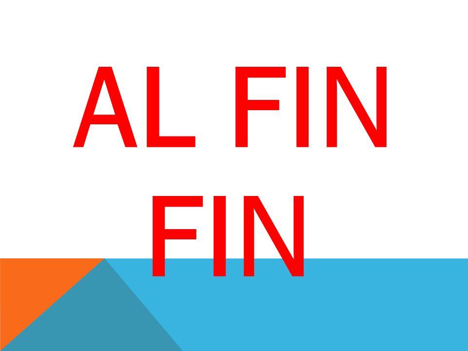AL FIN FIN