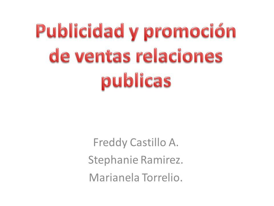 Publicidad y promoción de ventas relaciones publicas
