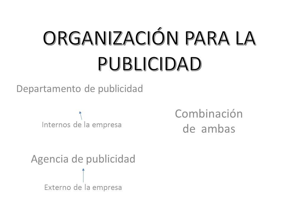 ORGANIZACIÓN PARA LA PUBLICIDAD