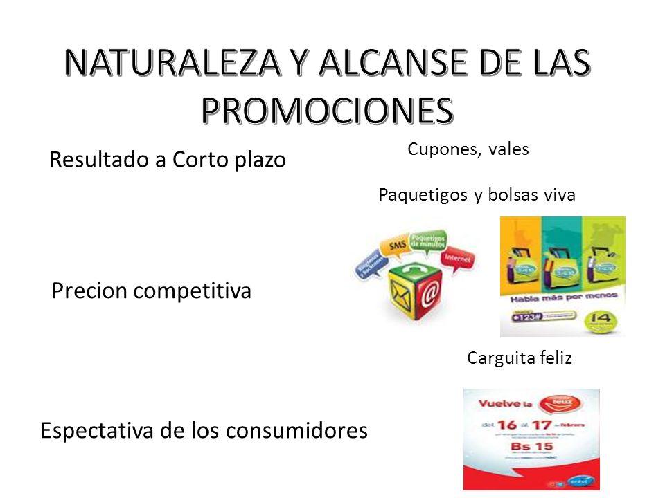 NATURALEZA Y ALCANSE DE LAS PROMOCIONES