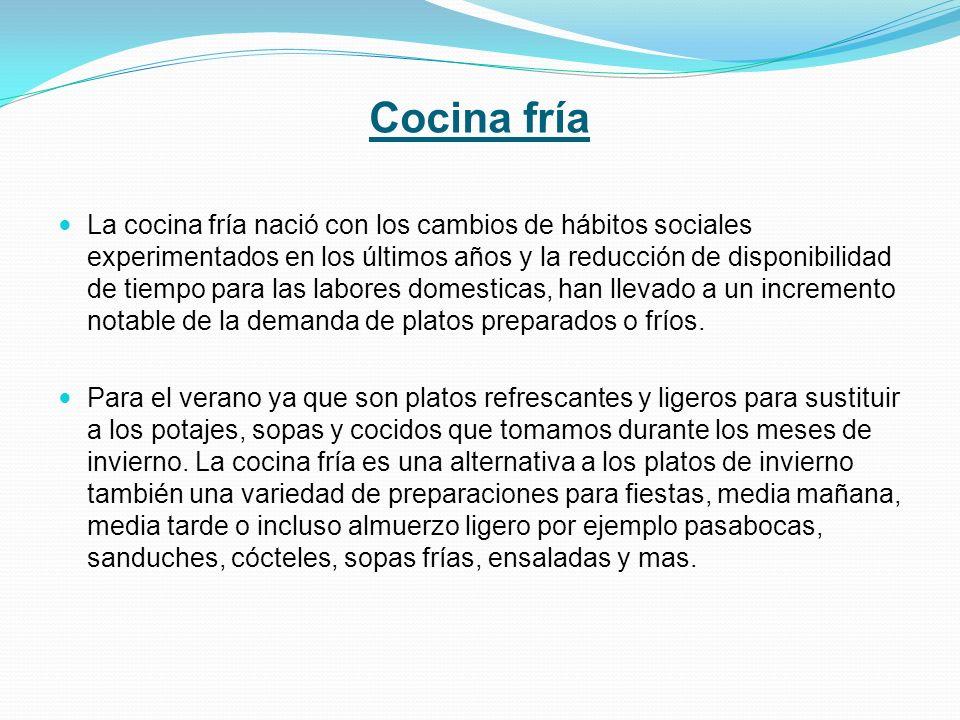Cocina fría