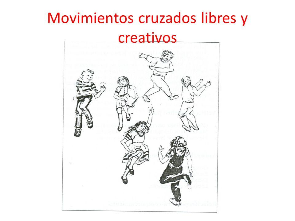 Movimientos cruzados libres y creativos