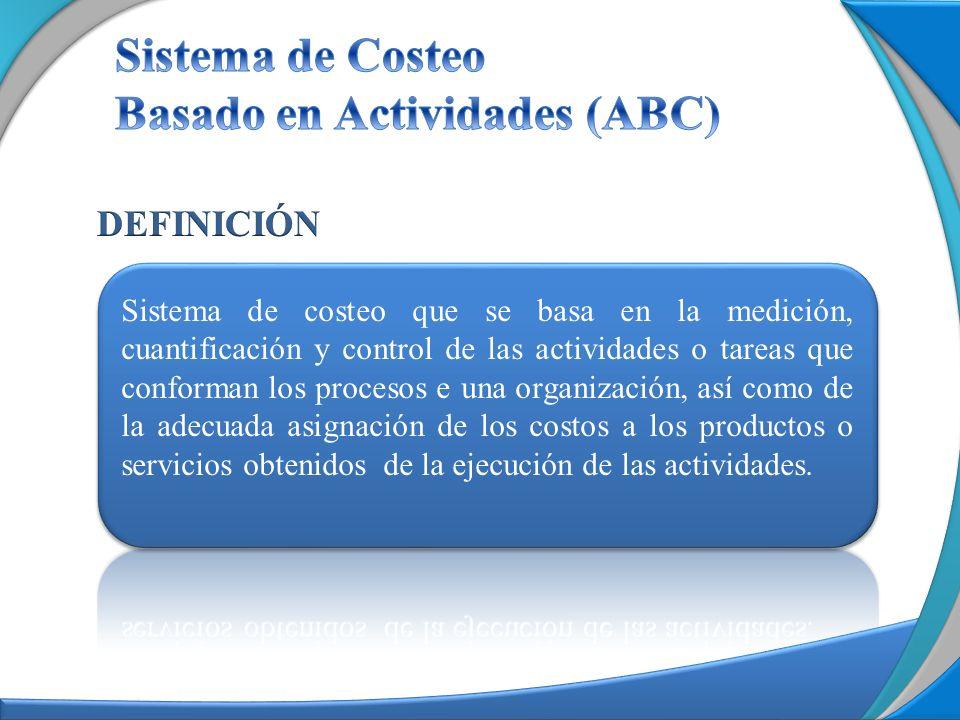 Sistema de Costeo Basado en Actividades (ABC)