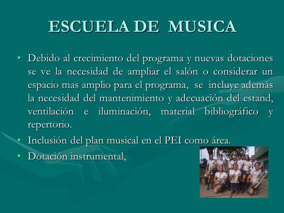 ESCUELA DE MUSICA