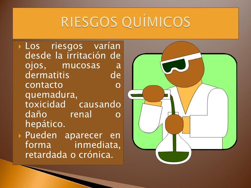 RIESGOS QUÍMICOS