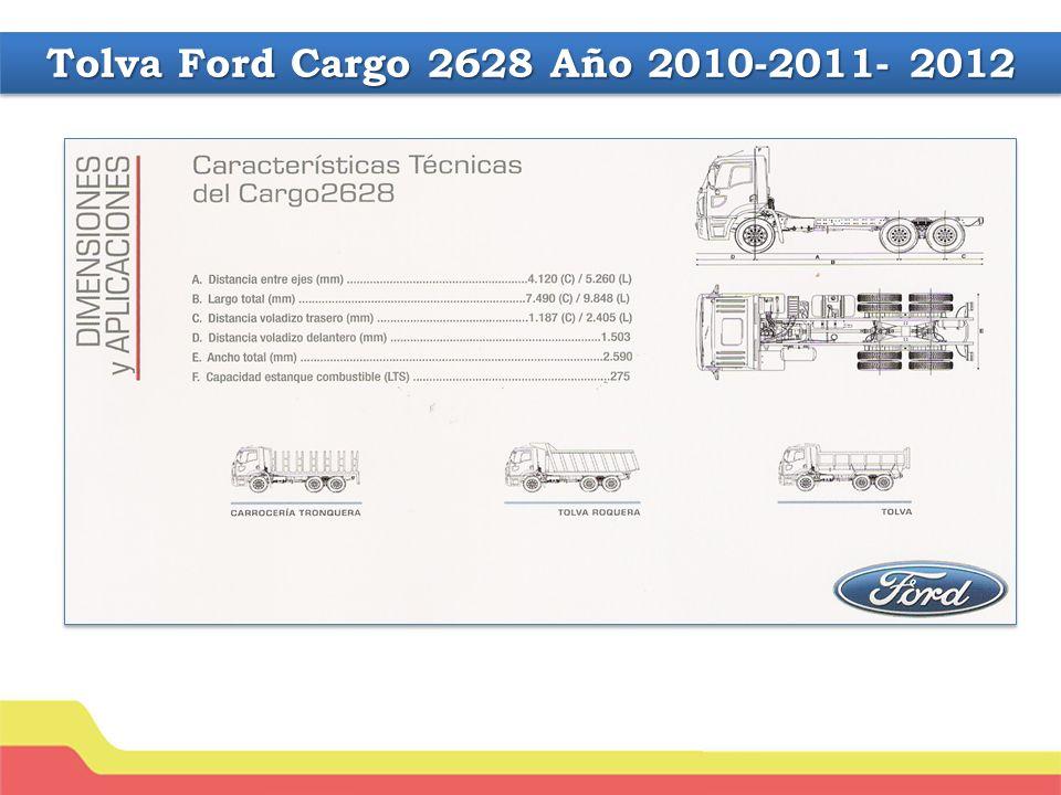 Tolva Ford Cargo 2628 Año 2010-2011- 2012