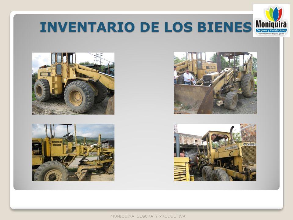 INVENTARIO DE LOS BIENES