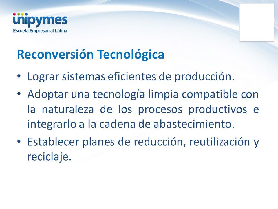 Reconversión Tecnológica