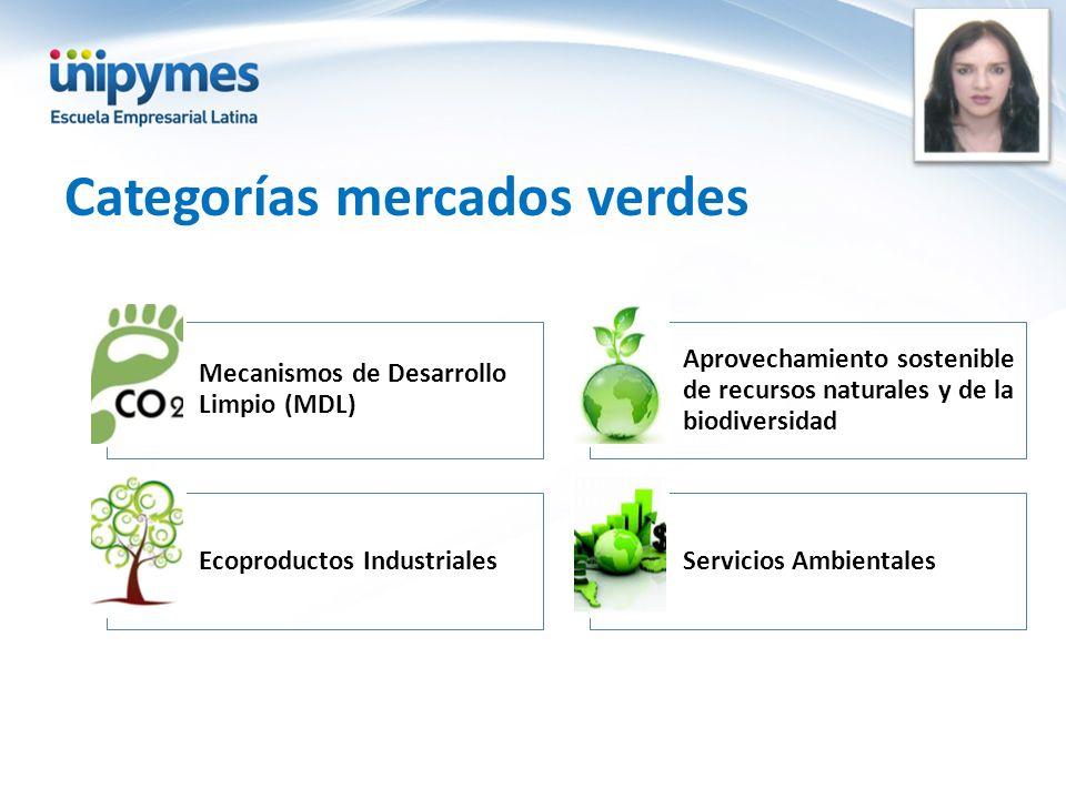 Categorías mercados verdes