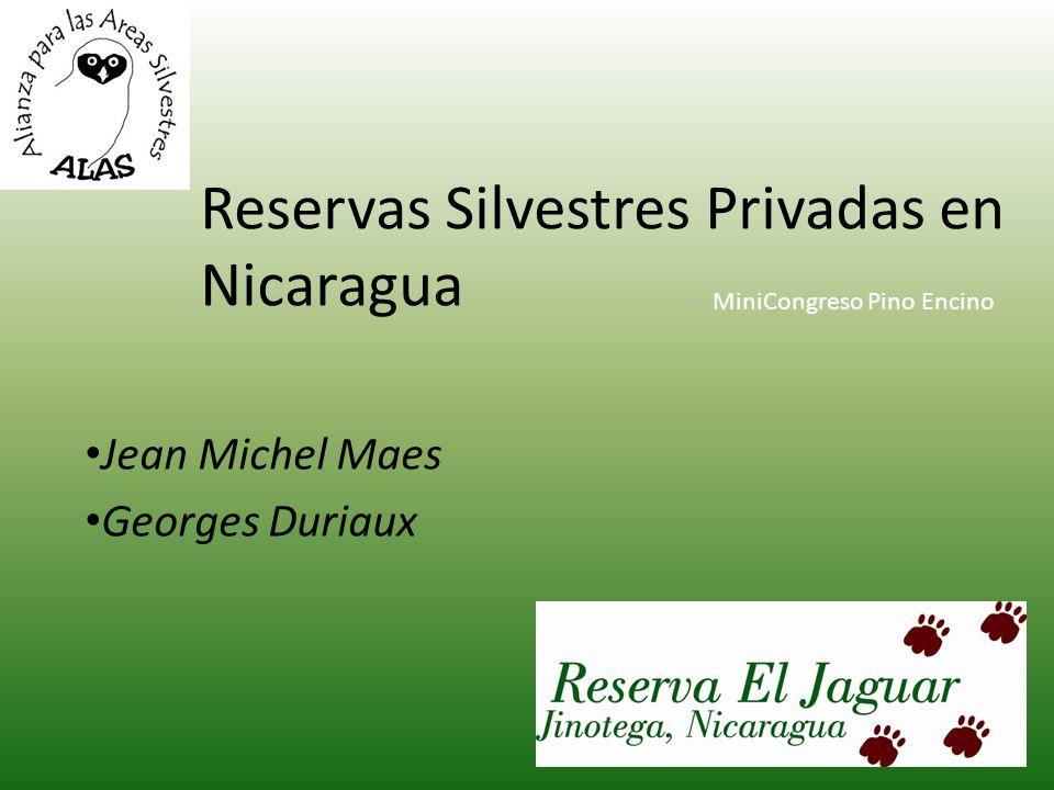 Reservas Silvestres Privadas en Nicaragua