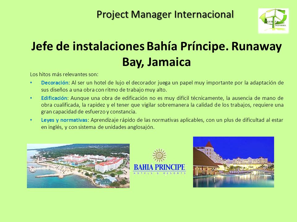 Project Manager Internacional