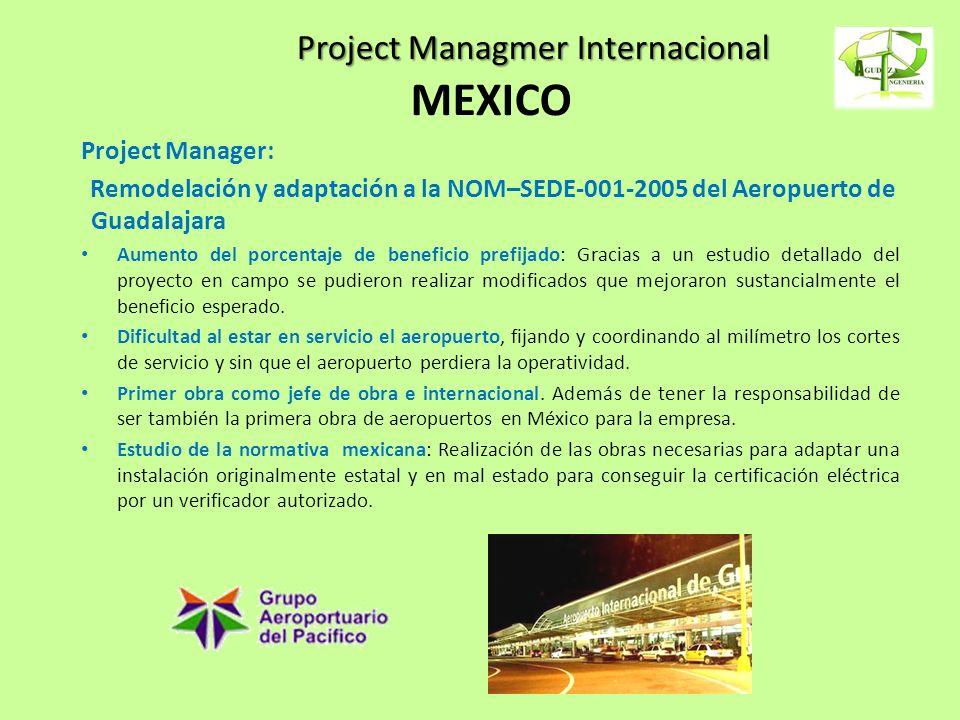 Project Managmer Internacional