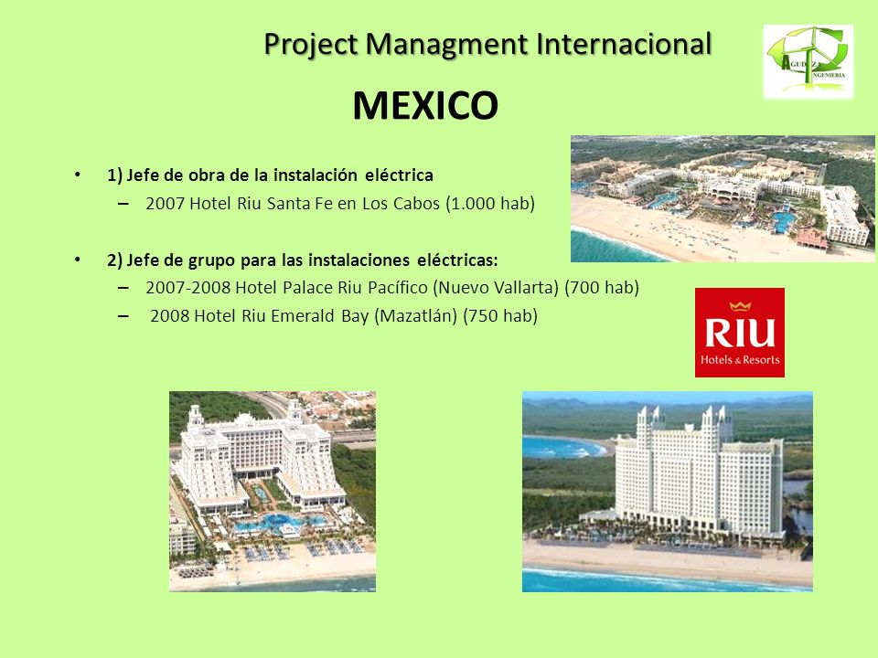 Project Managment Internacional