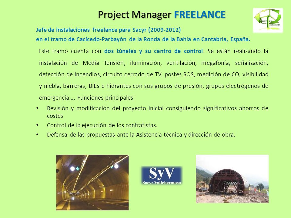 Project Manager FREELANCE