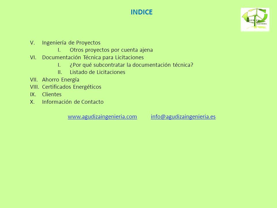 www.agudizaingenieria.com info@agudizaingenieria.es