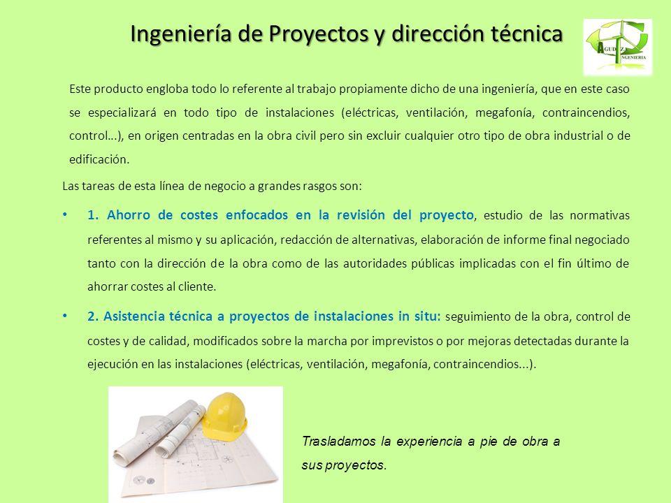 Ingeniería de Proyectos y dirección técnica