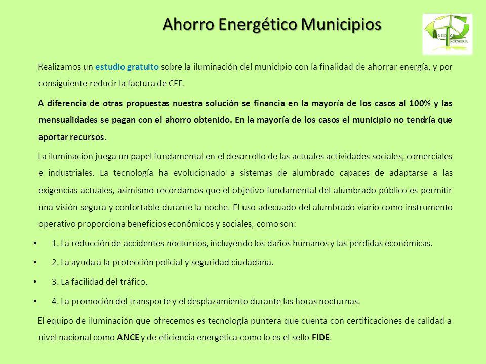 Ahorro Energético Municipios