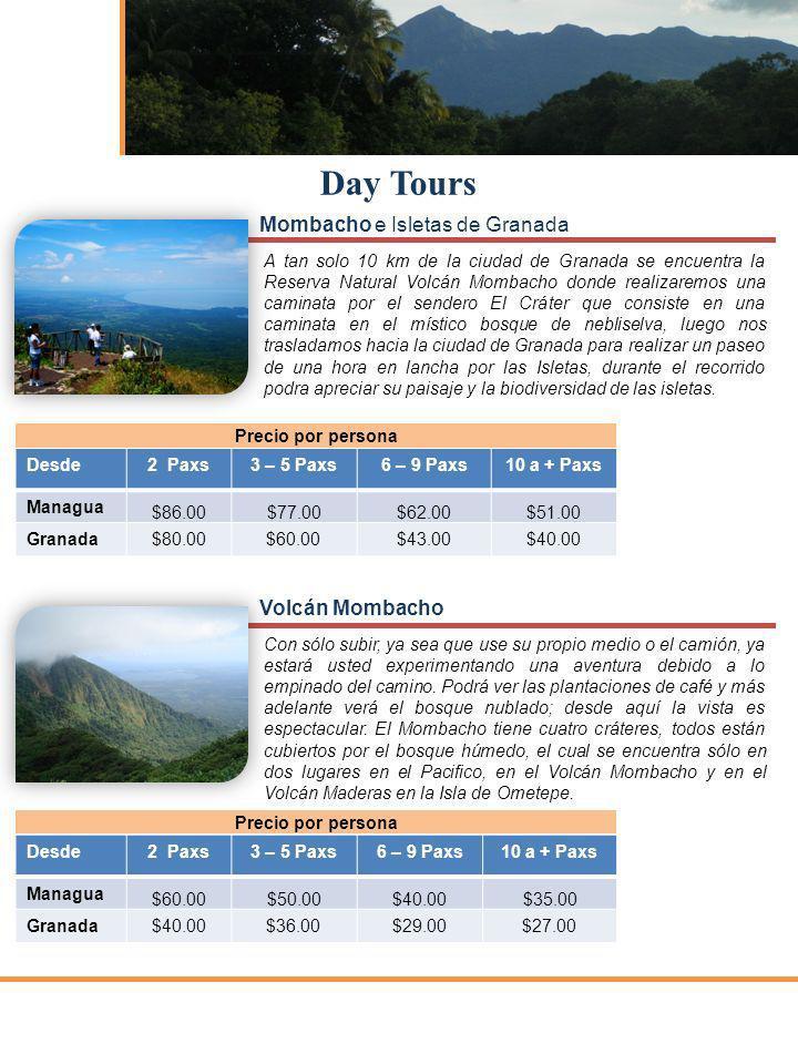 Day Tours Mombacho e Isletas de Granada Volcán Mombacho