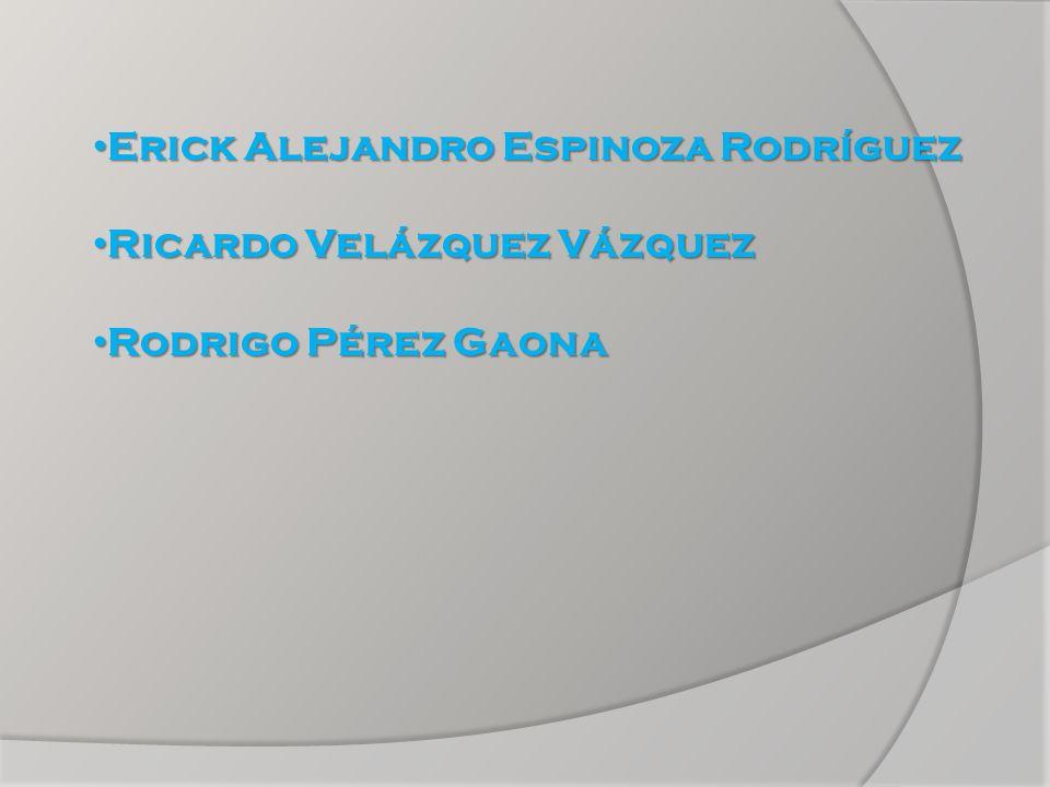 Erick Alejandro Espinoza Rodríguez