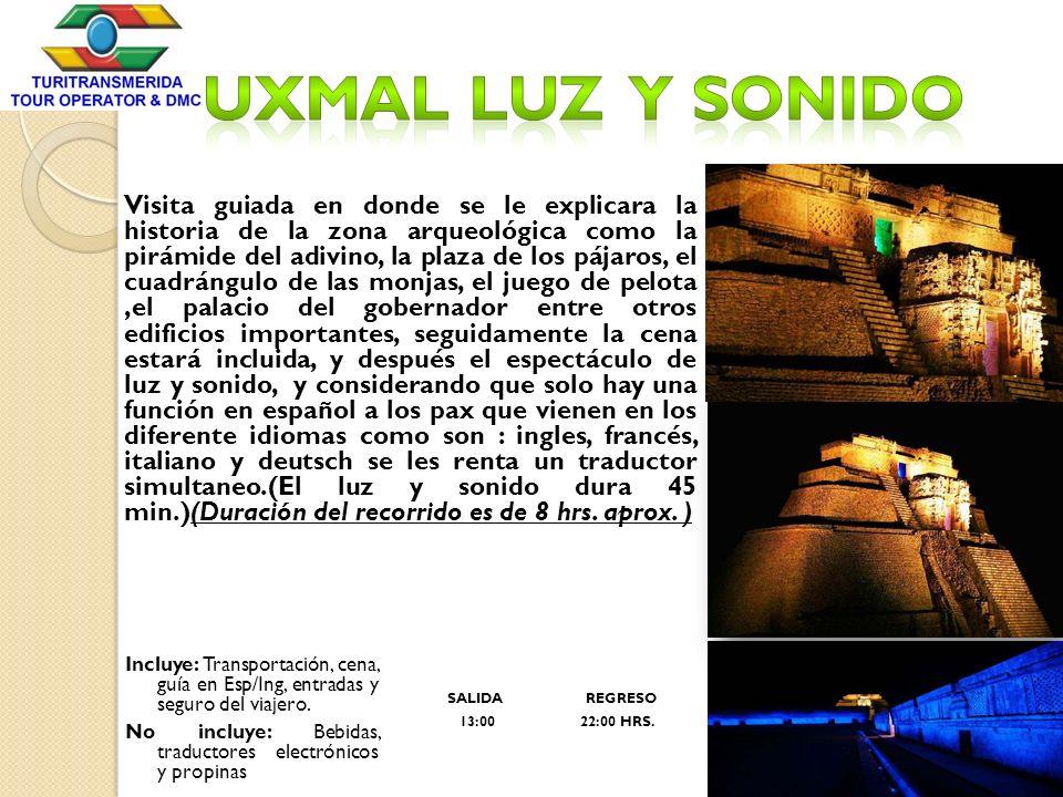 Uxmal Luz y sonido