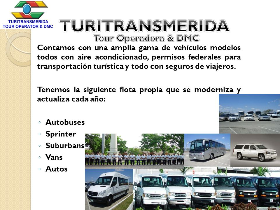 TURITRANSMERIDA Tour Operadora & DMC