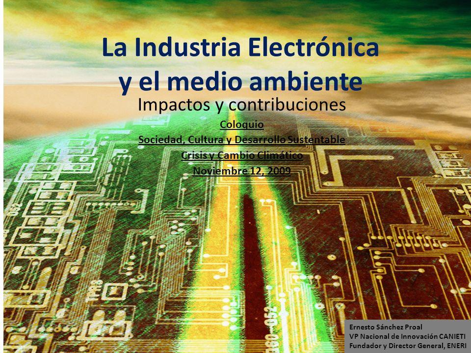 La Industria Electrónica y el medio ambiente