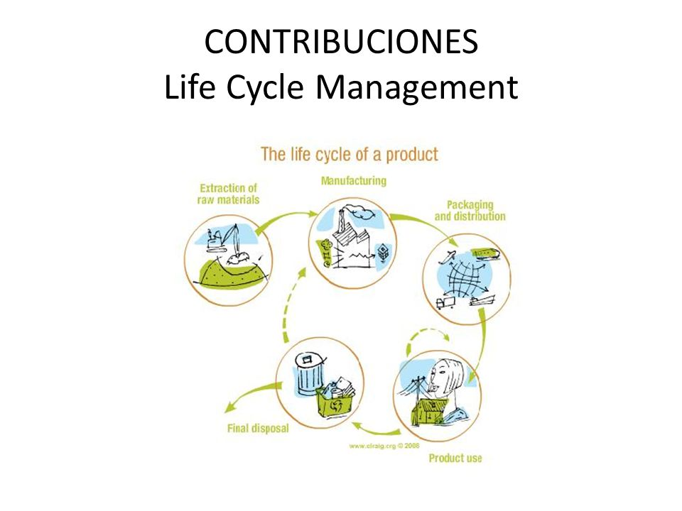 CONTRIBUCIONES Life Cycle Management