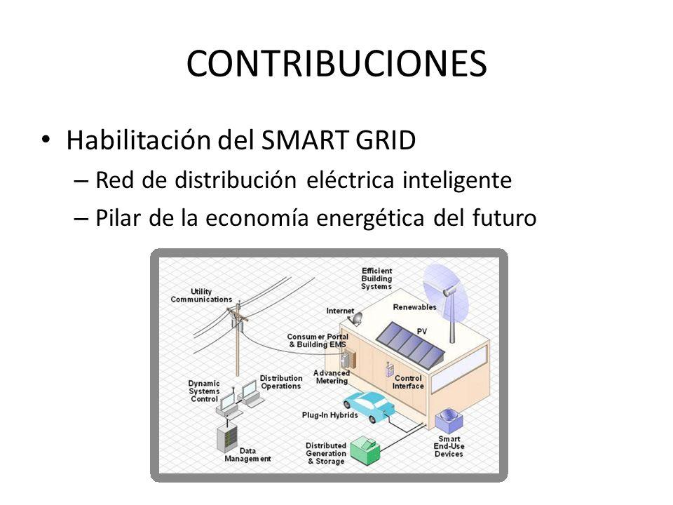 CONTRIBUCIONES Habilitación del SMART GRID