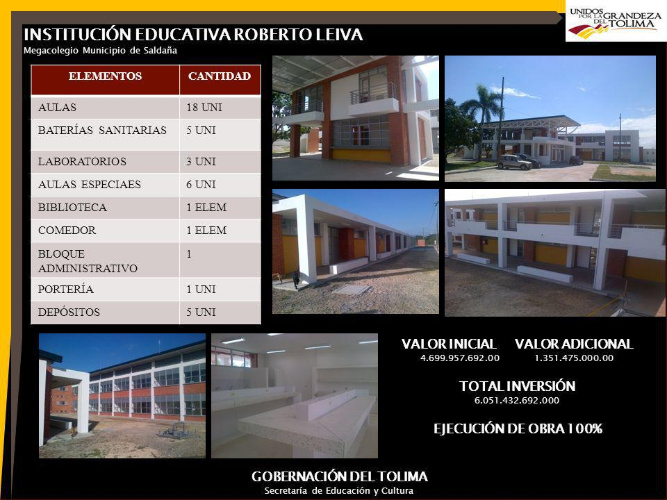 INSTITUCIÓN EDUCATIVA ROBERTO LEIVA