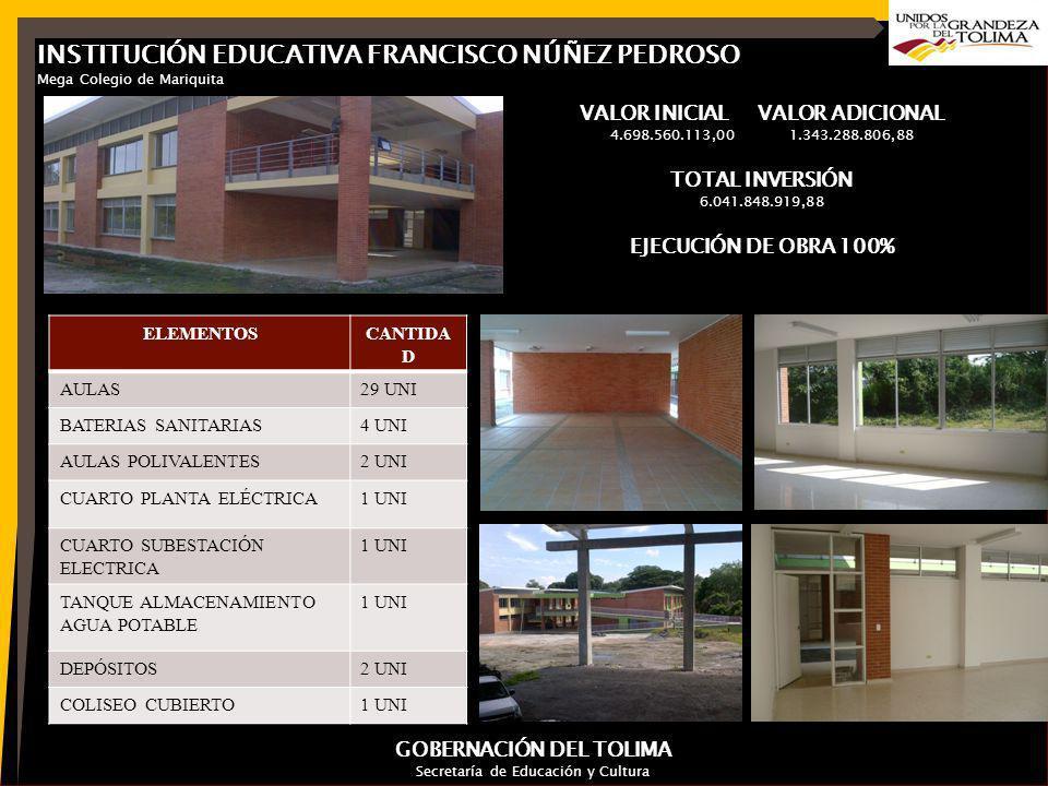 INSTITUCIÓN EDUCATIVA FRANCISCO NÚÑEZ PEDROSO