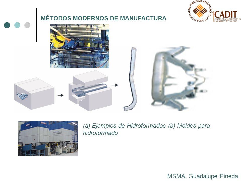 MÉTODOS MODERNOS DE MANUFACTURA