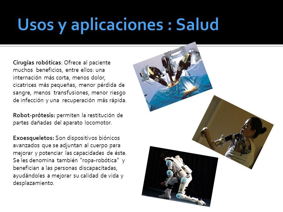 Usos y aplicaciones : Salud