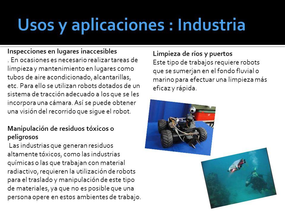 Usos y aplicaciones : Industria