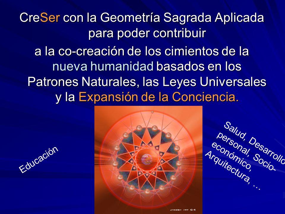 CreSer con la Geometría Sagrada Aplicada para poder contribuir