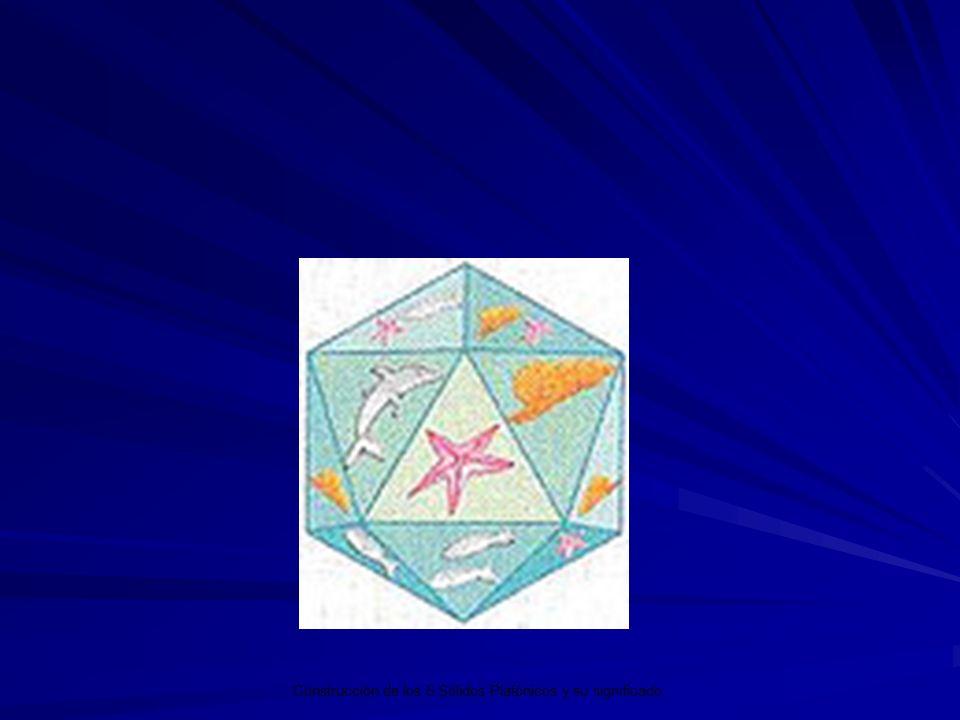 Construcción de los 5 Sólidos Platónicos y su significado.