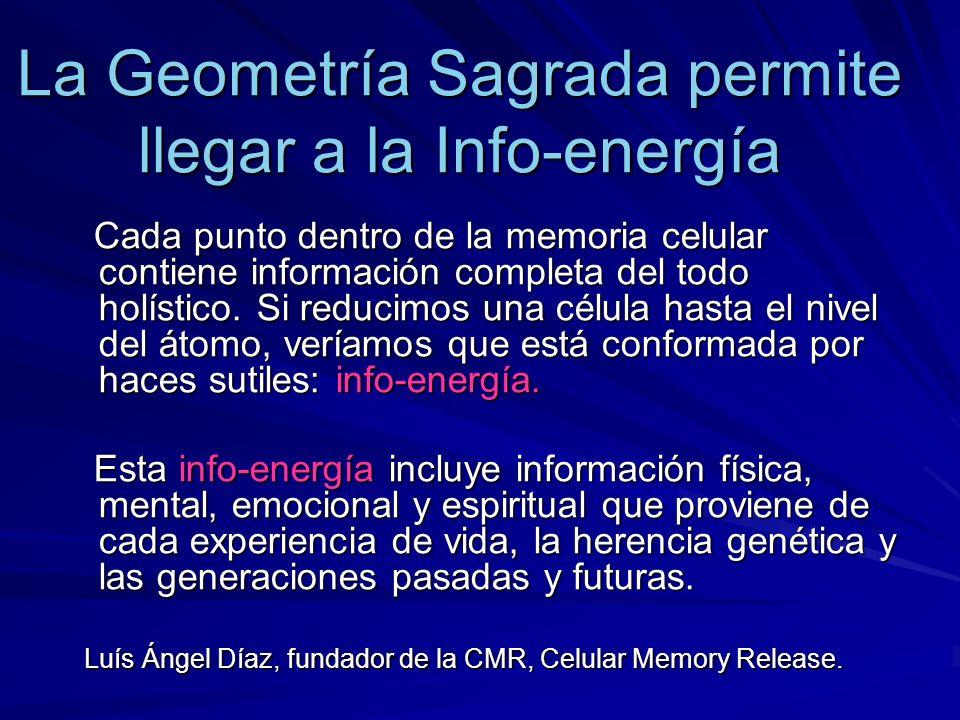 La Geometría Sagrada permite llegar a la Info-energía