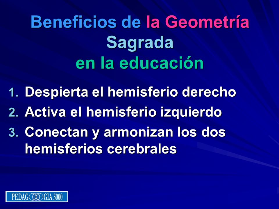 Beneficios de la Geometría Sagrada en la educación