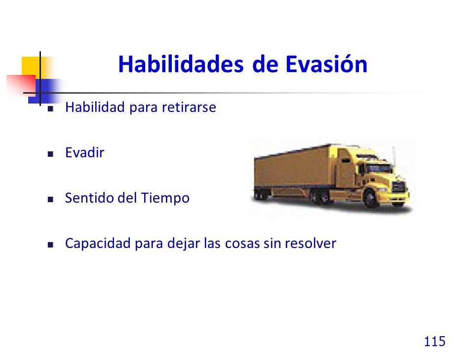 Habilidades de Evasión