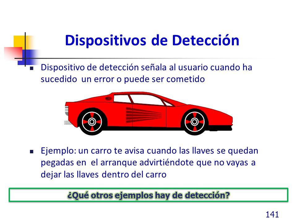 Dispositivos de Detección