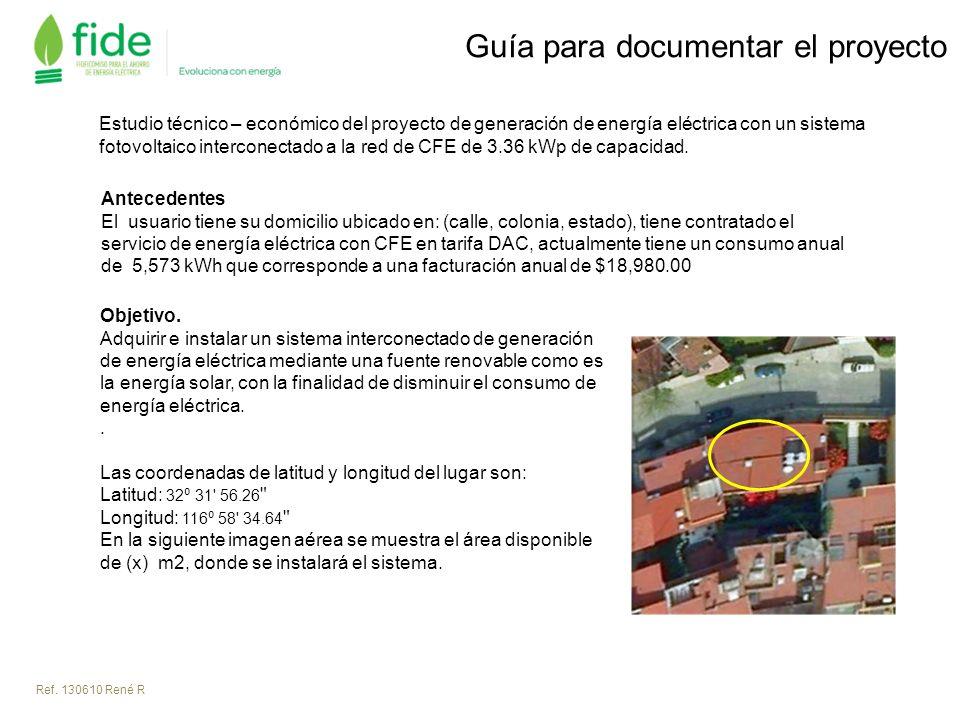Guía para documentar el proyecto