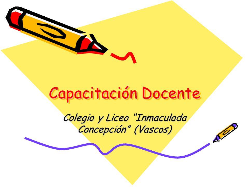 Colegio y Liceo Inmaculada Concepción (Vascos)