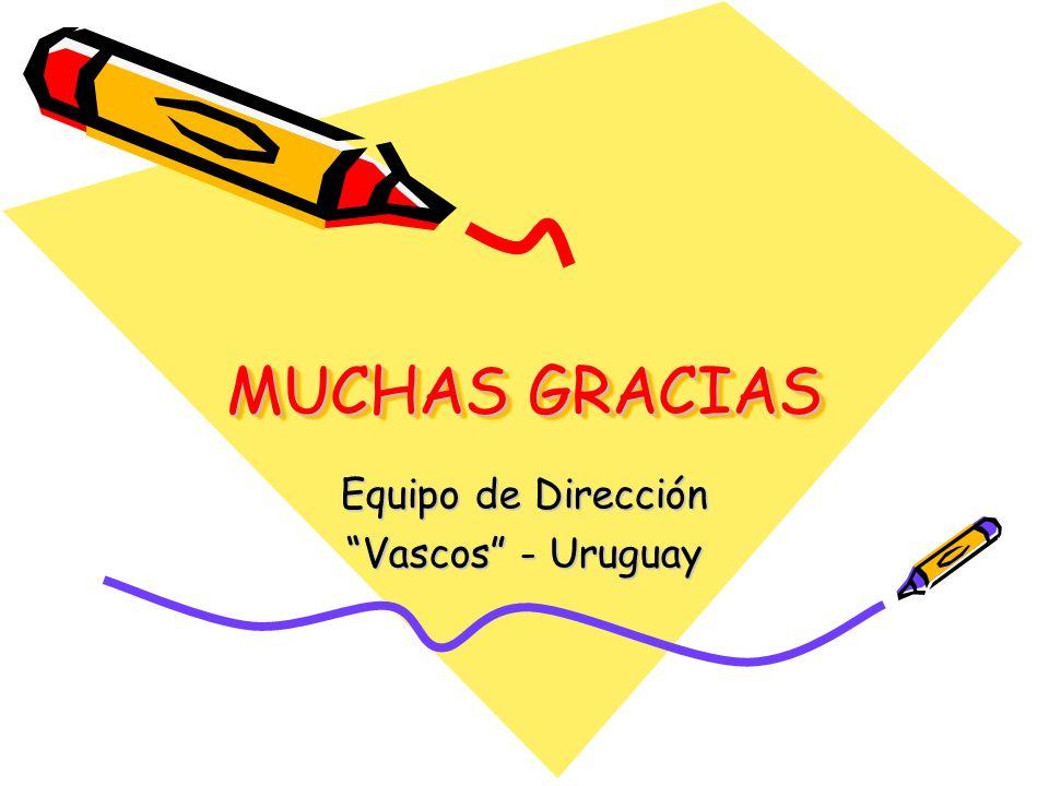 Equipo de Dirección Vascos - Uruguay