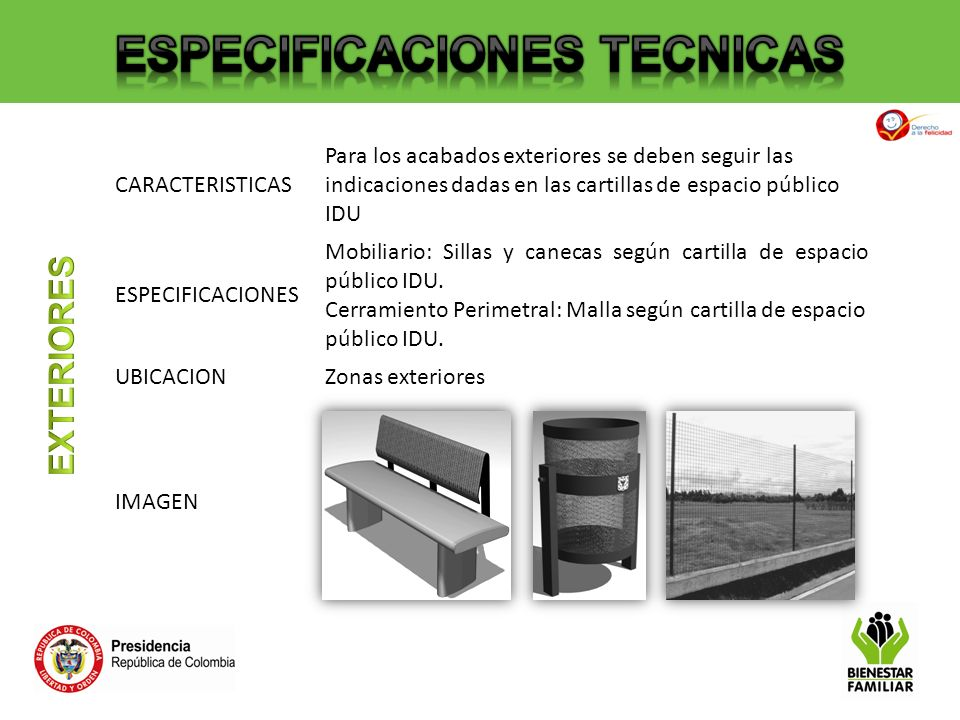 especificaciones de materiales ppt descargar