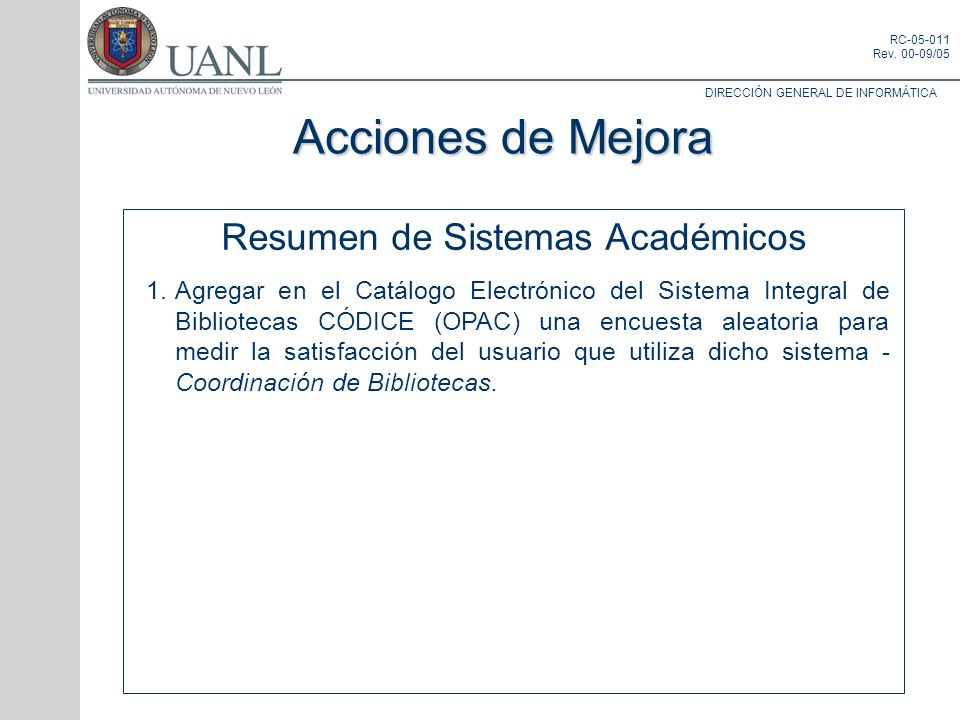 Resumen de Sistemas Académicos