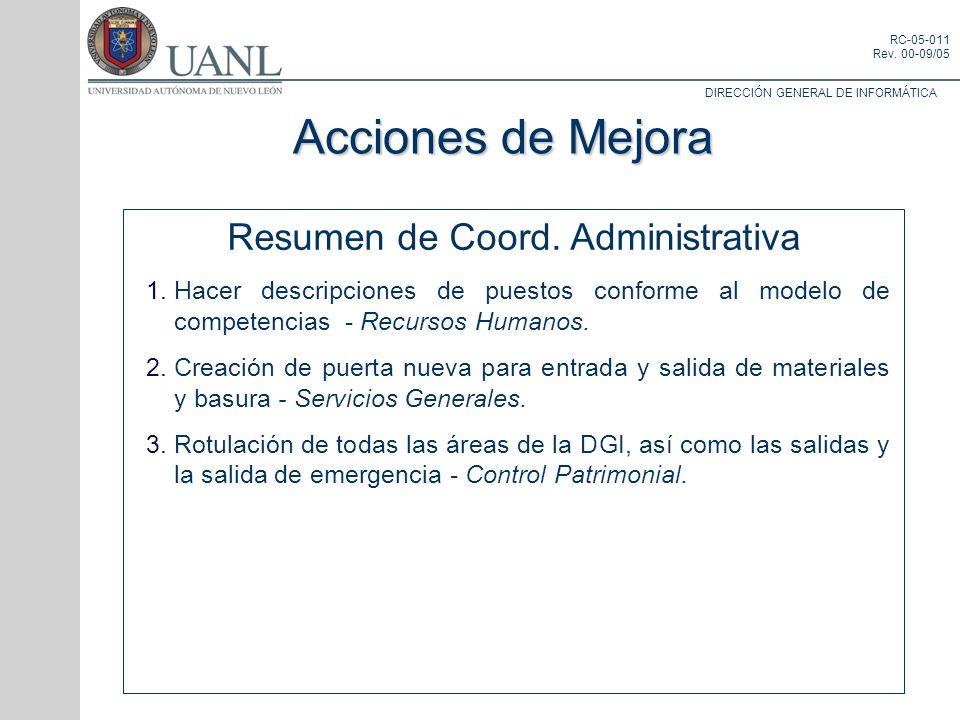 Resumen de Coord. Administrativa