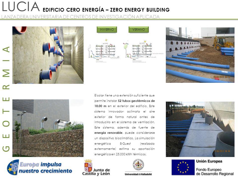 LUCIA GEOTERMIA EDIFICIO CERO ENERGÍA – ZERO ENERGY BUILDING