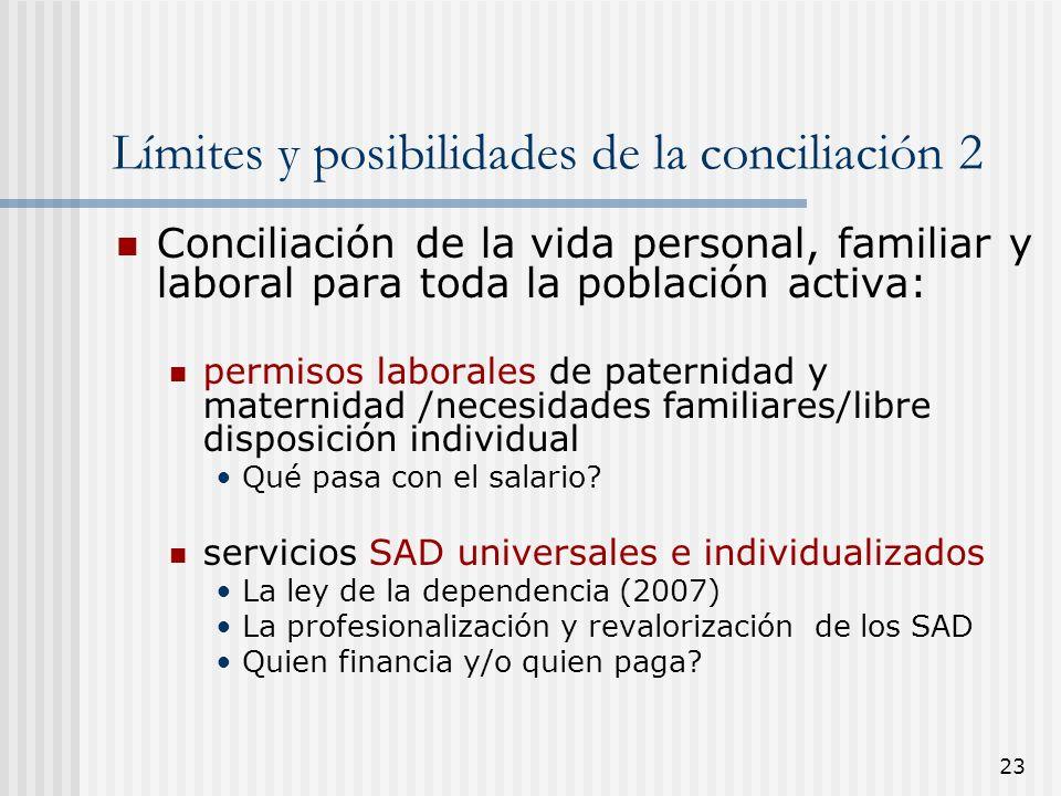 Límites y posibilidades de la conciliación 2