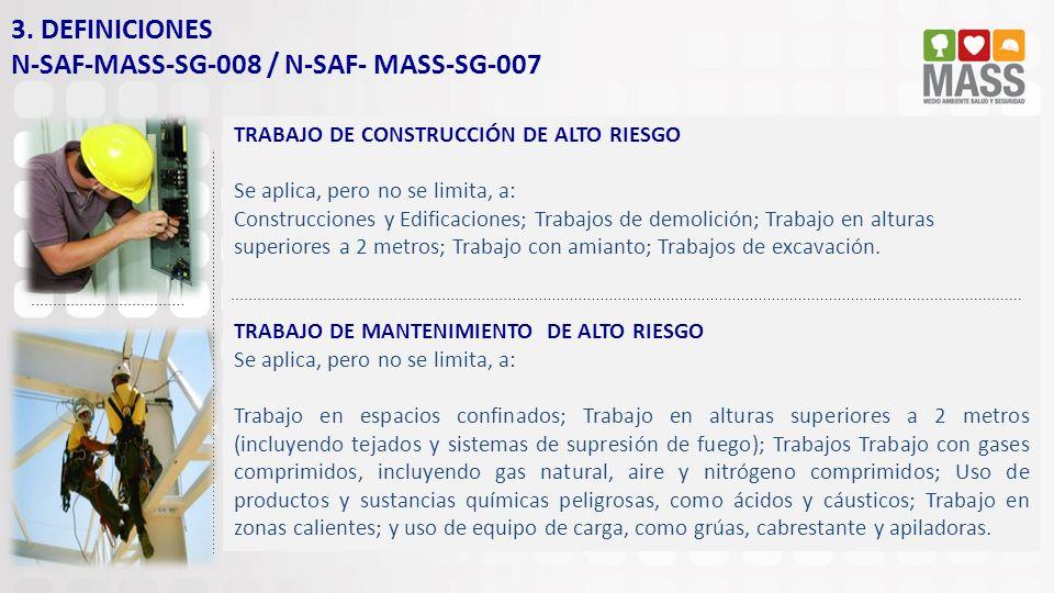 N-SAF-MASS-SG-008 / N-SAF- MASS-SG-007